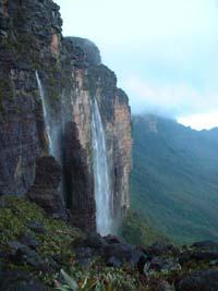 estas cascadas me ducharon entero