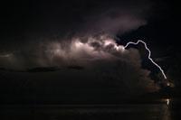 rayos en el lago maracaibo