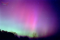 aurora morada