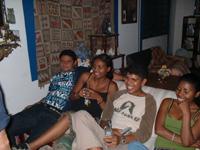 fiesta en casa de chapulin