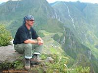 cima de huayna picchu