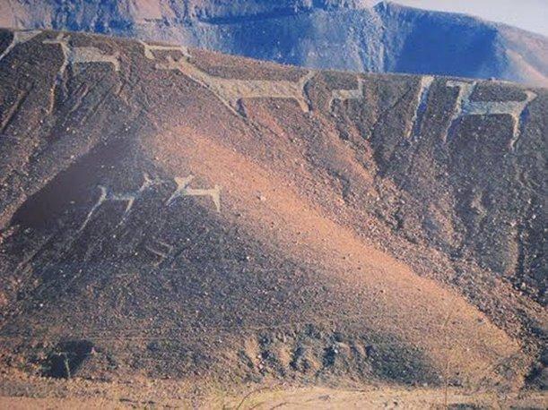 Los Geoglifos de ChenChen Cultura Tiahuanaco