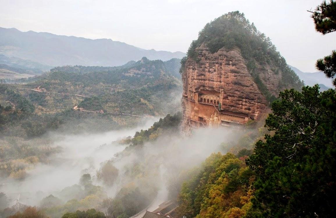 Las Cuevas de Maijishan