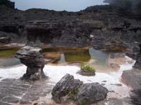 piscina natural de la cima de roraima