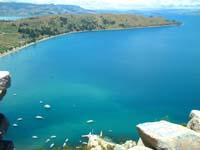 el lago titicaca desde copacabana